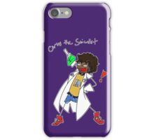 Carlos the Scientist iPhone Case/Skin