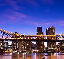 Blue Sky Bridge by Craig Kasper Photography