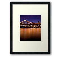 Story Bridge North Framed Print