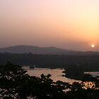 Sunset at Jinja by Rosie Appleton
