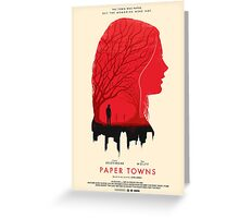 Paper Towns 'Memories' - Regular Greeting Card
