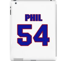 National football player Phil Armour jersey 54 iPad Case/Skin