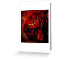 Scarlet Ribbon Greeting Card