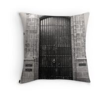SAN JUAN RED PALACE Throw Pillow