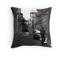 SAN JUAN POLICIA Throw Pillow