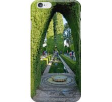 Reflecting Pool Archway iPhone Case/Skin