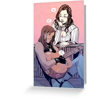 Sing Me Anything Greeting Card
