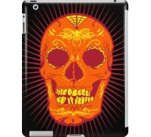 Calavera Skull - Orange iPad Case/Skin