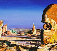 Broken Hill Sculptures by Sue Hodge