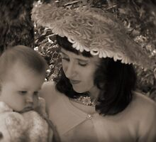 50's mother & child by Adriana Glackin