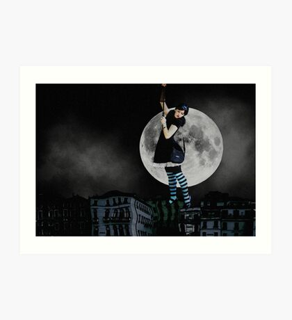 My Story With the Moon Art Print