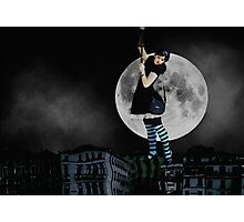 My Story With the Moon Photographic Print