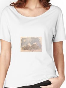 Watercolor Mountains Women's Relaxed Fit T-Shirt