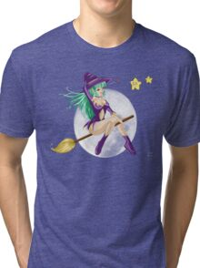 Sexy sweet Whitch color Tri-blend T-Shirt