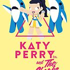 Katy Perry and The Sharks by steppuki