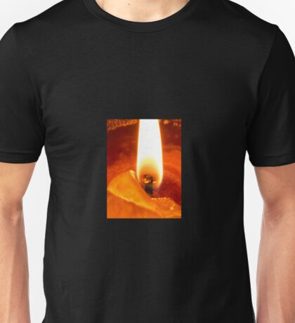 Candle Flame Unisex T-Shirt