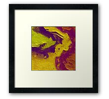 The Race Framed Print