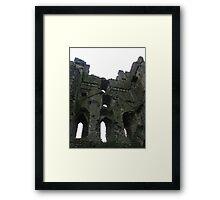 Castle Interior - Helmsley Castle Framed Print