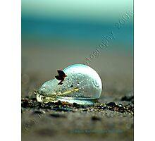 Sand and Glass Photographic Print
