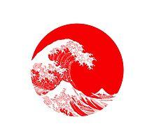 Hokusai, Kanagawa great wave Photographic Print