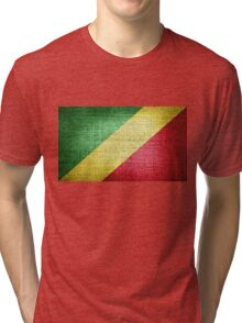 Flag of the Republic of the Congo Tri-blend T-Shirt