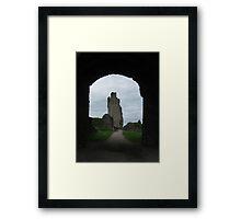 Helmsley Castle Framed Print