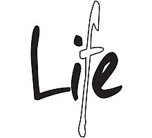 Life Is A Lie Photographic Print