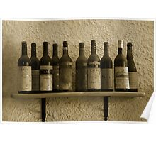 Wine in the past Poster