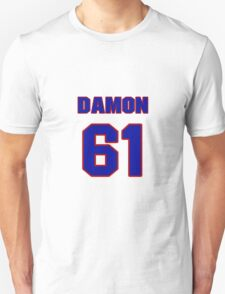 National football player Damon Denson jersey 61 T-Shirt