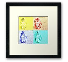 Warhol Kitten Framed Print