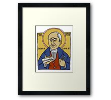 Rodolphe Töpffer: Patron Saint of Comics Framed Print