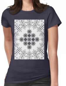 Particle  Womens Fitted T-Shirt