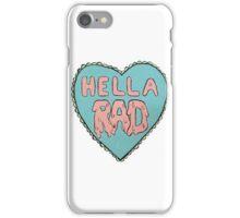 Hella Rad Heart iPhone Case/Skin