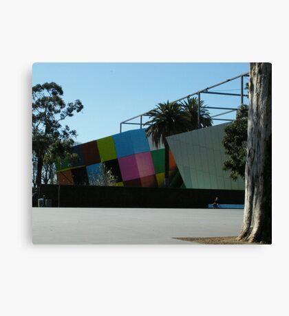 Museum Blocks Canvas Print