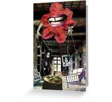 """Memories"" - surreal fantasy collage mixed media Greeting Card"