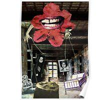 """Memories"" - surreal fantasy collage mixed media Poster"