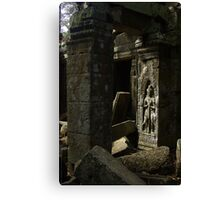 The Lost Temple - Cambodia Canvas Print