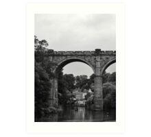 River Nidd - Railway Bridge Art Print