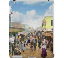 CITY - NY - The Bowery 1900 iPad Case/Skin