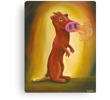 Spice Weasel Canvas Print