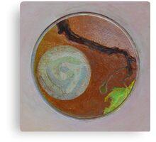 Mandala 1 - Moon And A Grape Stem Canvas Print