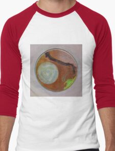 Mandala 1 - Moon And A Grape Stem Men's Baseball ¾ T-Shirt