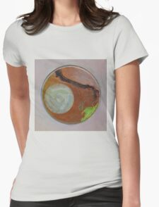 Mandala 1 - Moon And A Grape Stem Womens Fitted T-Shirt