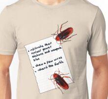 Cockroach Manifesto Unisex T-Shirt