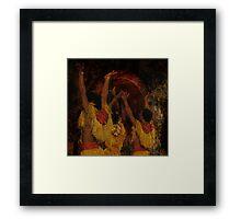 Taino 4 Framed Print