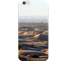Tunisia: frozen dunes iPhone Case/Skin