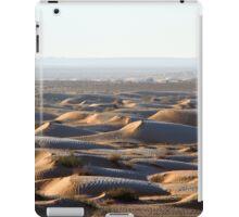 Tunisia: frozen dunes iPad Case/Skin