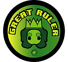 Great Ruler (Green) Photographic Print
