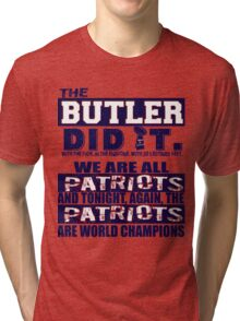 The Butler Did It Tri-blend T-Shirt