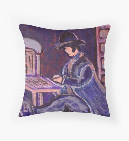 The chair mender Throw Pillow